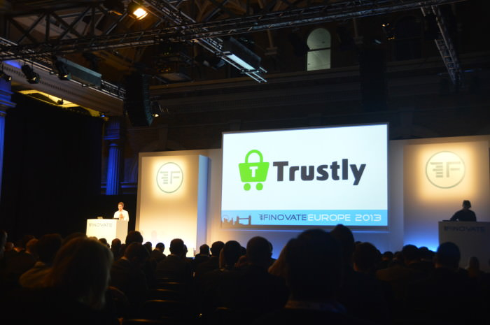 Trustly demonstrates Trustly Direct Payment at Finovate