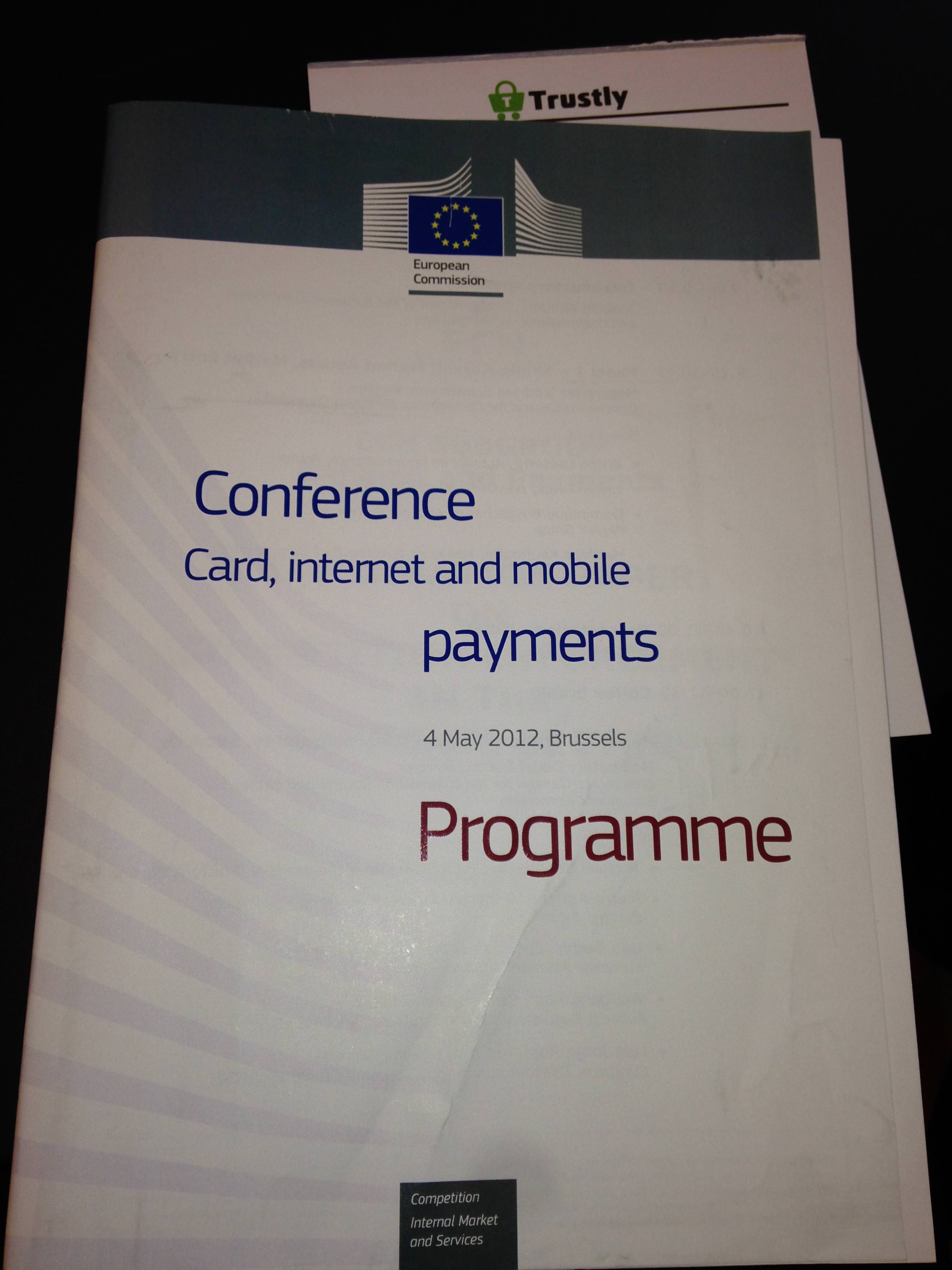 Trustly attends EU-hosted payments conference